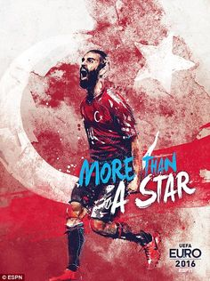 Arda Turan provides the star dust for Turkey...
