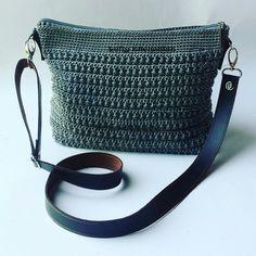 Crochet Star stitch Slingbag