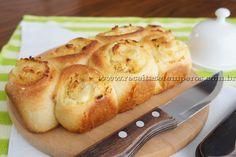 Pão fofinho com frango e catupiry | Receitas e Temperos