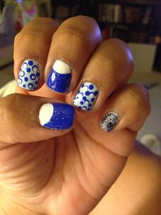 my take on nail art inspired by MissJenFabulous!
