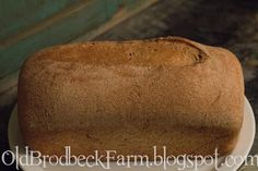 Farm Chick Chit Chat: Freshly Baked Bread the Easier Way! Using a bread machine to prep your dough and your oven to bake