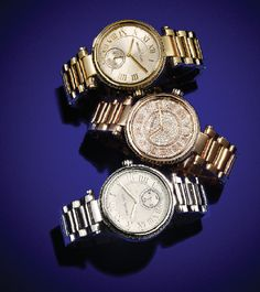 Time for an upgrade: statement-making watches from Michael Kors