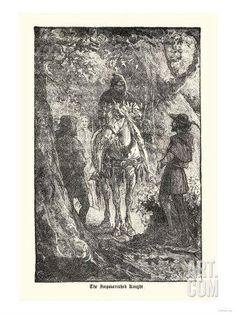 Robin Hood: The Impoverished Knight Art Print at Art.co.uk