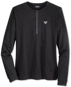5c2968f0 Armani Exchange Men's Long-Sleeve T-Shirt & Reviews - T-Shirts - Men -  Macy's. Armani Jeans ...