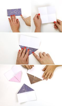 Learn how to fold modular origami paper crowns! These cute paper crowns are easy to make and require no glue or scissors! This origami crown tutorial is great for special occasions or can be a simple everyday craft too. Origami Mouse, Origami Fish, Origami Dragon, Origami Paper, Easy Origami, Origami Crown, Origami Star Box, Origami Instructions, Origami Tutorial