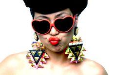 Nookie earrings by Badacious