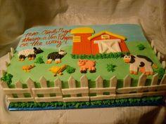 farn aniaml cakes | farm animals cake | Cupcake shop