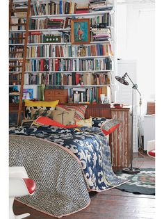Bedroom library