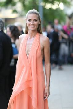 Heidi Klum #CFDAAwards  Photo by BFA NYC