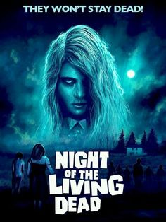 Classic Movie Posters, Horror Movie Posters, Movie Poster Art, Horror Movies, Zombie Movies, Scary Movies, Night Of Living Dead, Scary Documentaries, George Romero