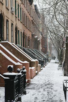 Brooklyn in winter / photo by Nicole Franzen