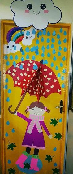 Teacher Classroom Decorations, School Door Decorations, Decoration Creche, Class Decoration, Preschool Crafts, Diy Crafts For Kids, Drawing For Kids, Art For Kids, Orla Infantil