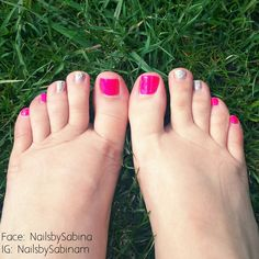 Gelish done by Marianne Indrebø. Ready for the summer!