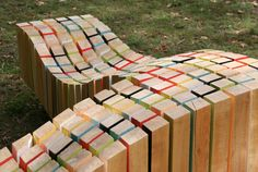Check out Lightwave, a sculptural bench inspired by waves. The kicker? It lights up at night!