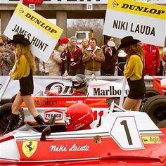 Niki Laudavs James Hunt Ferrari vs McLaren - Motorsports archives