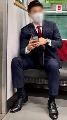 Black Suits, Mens Suits, Muscle, Mens Fashion, Shit Happens, Guys, Sexy, Pants, Socks
