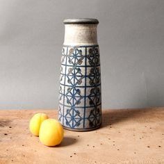 vase marianne starck mid century vintage danish by northvintage