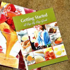 Vita-mix Cookbook Recipe Book Binder 2009 Owners manual Vitamix