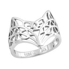 Aztec Pattern Fox Ring - Midsummer Star  - 1