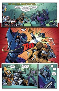 Dissolution Concludes! - Transformers: Lost Light #6 IDW Comics Review