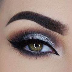 Gorgeous as Always, Glittery Smokey Eye Makeup by MUA Paulina ♡♥♡♥♡♥