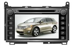 "7""pure Android 4.4.4 for TOYOTA VENZA 2008 2012 car DVD,gps navigation,3G,BT,Wifi,cortex A9,1GB,DDR3,TDA7786,Russian,english"
