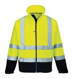 0d28865d0c1 S425 - Hi-Vis Contrast Softshell Workwear