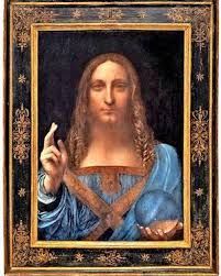 "Leonardo da Vinci: ""Salvator Mundi"". Just sold for 400.000.000 dollars by Christies New York (15-11-2017)"