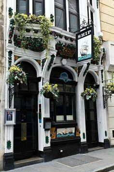 The Ship Pub, London, England Jacqueline Gillam Fairchild Her Majesty's English Tea Room Author: The Scrap Book Trilogy London Pubs, London Art, Soho Pubs, Hotel California, Pub Interior, Loire Valley, Pub Design, Old Pub, British Pub