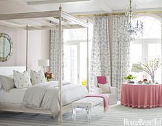 100+  Beautiful Designer Bedrooms via House Beautiful--  Bedrooms come in all styles, shapes, and sizes, so how do you design your own? We've got your bedroom decorating inspiration here. With more than 80 bedrooms (and styles) to choose from, there's an idea for everyone.