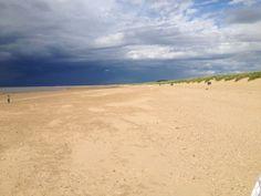 Old Hunstanton Beach in Old Hunstanton, Norfolk