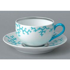 Raynaud Cristobal Turquoise Tea Cup