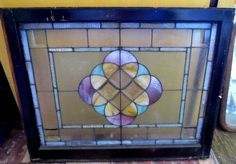 US $500.00 in Antiques, Architectural & Garden, Stained Glass Windows