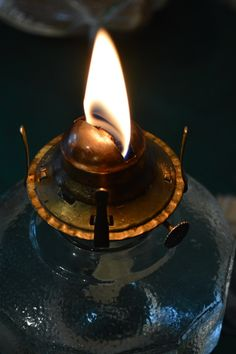 how to clean an oil lamp 4