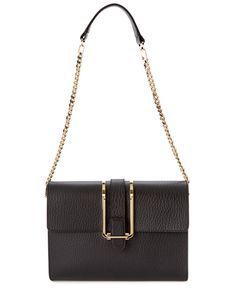 "Chloe ""Bronte"" Leather Shoulder Bag is on Rue. Shop it now."