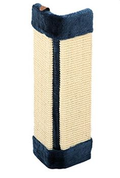 cat tunnel orange - Freerun Sisal Wall Saver Corner Cat Scratcher Mat Scratch Pad - Blue * Click image to review more details. (This is an affiliate link) #CatTunnels