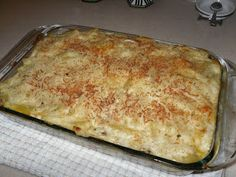Classic Greek Pastitsio I love this site http://porkrecipe.org/posts/Classic-Greek-Pastitsio-31163