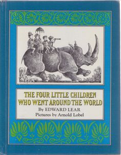 Edition World Hardcover Antiquarian & Collectible Books Arnold Lobel, Book Cover, Edward Lear, Illustration, Picture Book, Vintage Children, Pictures, Cover Art, Edward