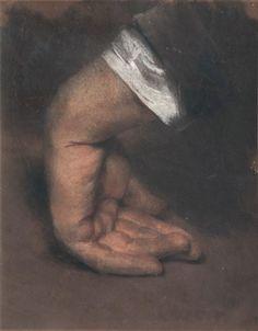 Adolph von Menzel | Study of a Hand (Circa 1848) | MutualArt