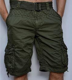 Affliction Black Premium Observation Men's Cargo Shorts Military Green | eBay
