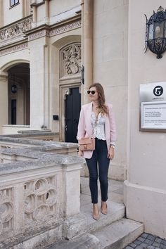 Herbst Outfit Blazer