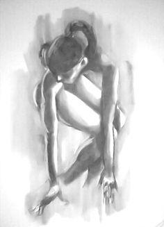 Nude Study #5 by rossgipson678.deviantart.com on @deviantART