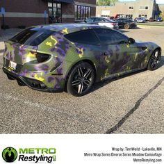 Metro Meadow Camo car wrap by Tint World. Metro Diverse Series Meadow camo is exclusively available at MetroRestyling. Hexagon Pattern, We The Best, Car Wrap, Easy Install, State Art, Military Green, Vivid Colors, Picture Video, Camouflage