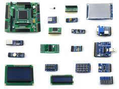 126.89$  Buy now - http://ali17x.worldwells.pw/go.php?t=32788064503 - module EP2C8Q208C8N ALTERA Cyclone II FPGA Development Board+3.2inch 320x240 Touch LCD+18 Modules=OpenEP2C8-C Package B