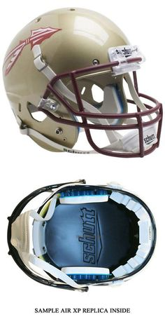 College-NCAA 24541: Florida State Seminoles Alt 2016 Schutt Xp Full Size Replica Football Helmet -> BUY IT NOW ONLY: $84.95 on eBay!