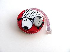 Tape Measure with Just Sheep Measuring tape by AllAboutTheButtons, $7.75 USD