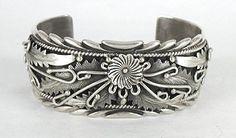 Authentic Native American Navajo Sterling Silver bracelet