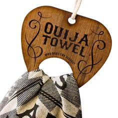 Petra Leijssen - Ouija Dish Towel on Behance