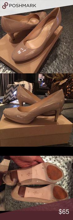 "Cole Haan maple sugar patent pumps ""Chelsea"" pump worn 2 times! Excellent condition.  Size 9B Cole Haan Shoes Heels"
