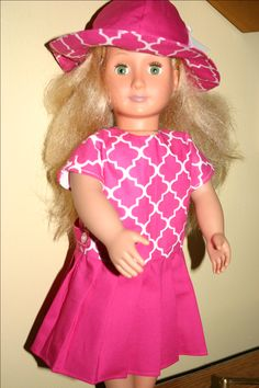 a dress for my granddaughter's American girl doll